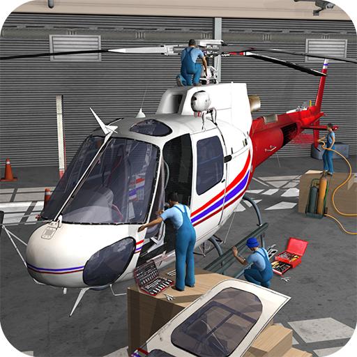 Airplane Repair Workshop Garage 2019: Aircraft Mechanic Simulator Games Free for ()