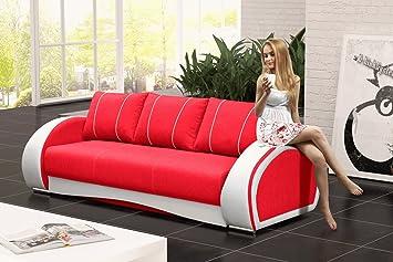 Furnistad Sofa Holly Mit Schlaffunktion Und Bettkasten 3 Sitzer