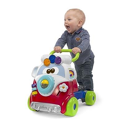 Chicco- Happy Hippy Big & Small Andador,, Silla Frontal: 54 x 99.5; Perfil: 90.5 x 99.5; Compacto: 52 x 99.5 x 35.5 / Capazo: 89 x 65 x 45 / Auto: 67 x 61 x 44 (00005905100000): Juguetes y juegos