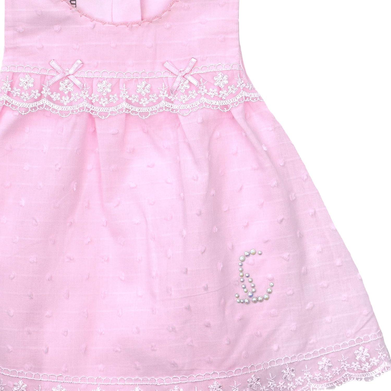 Caramell Baby M/ädchen Bodykleid Kleid mit Shorts Spitzenkleid Spitzenbody Neugeboren