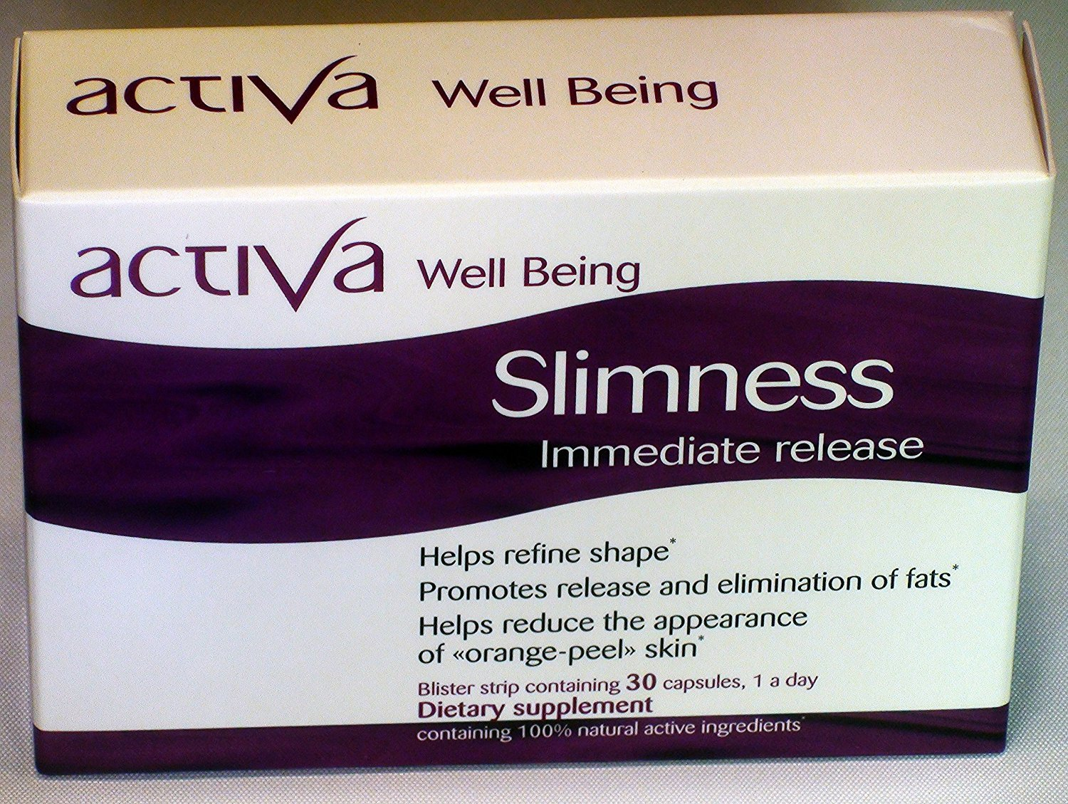 Activa Well Being Slimness (Weight Loss) - Immediate Release