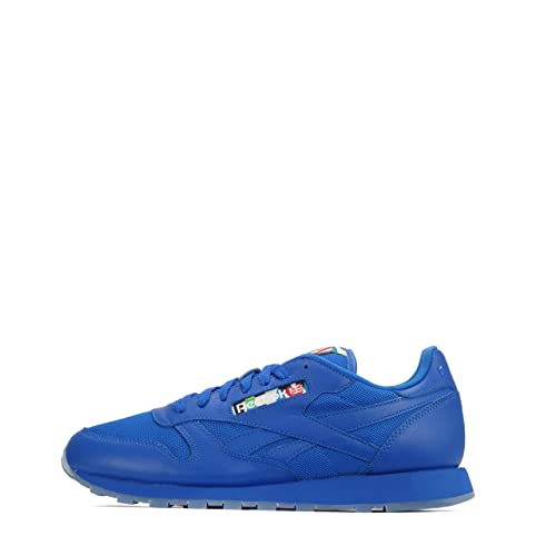 Reebok Reebok Classic Leather - Zapatillas de Piel para hombre Buff Blue-Ice, color, talla 42,5 EU: Amazon.es: Zapatos y complementos