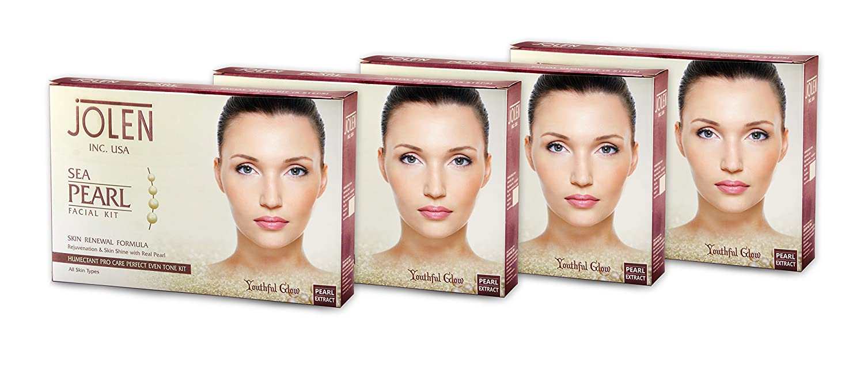 Jolen Sea Pearl Facial Kit Pouch 200g Amazon Beauty
