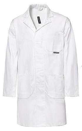 HighMax Kittel Mantel Berufsmantel Arbeitsmantel 100% Baumwolle 280G ...
