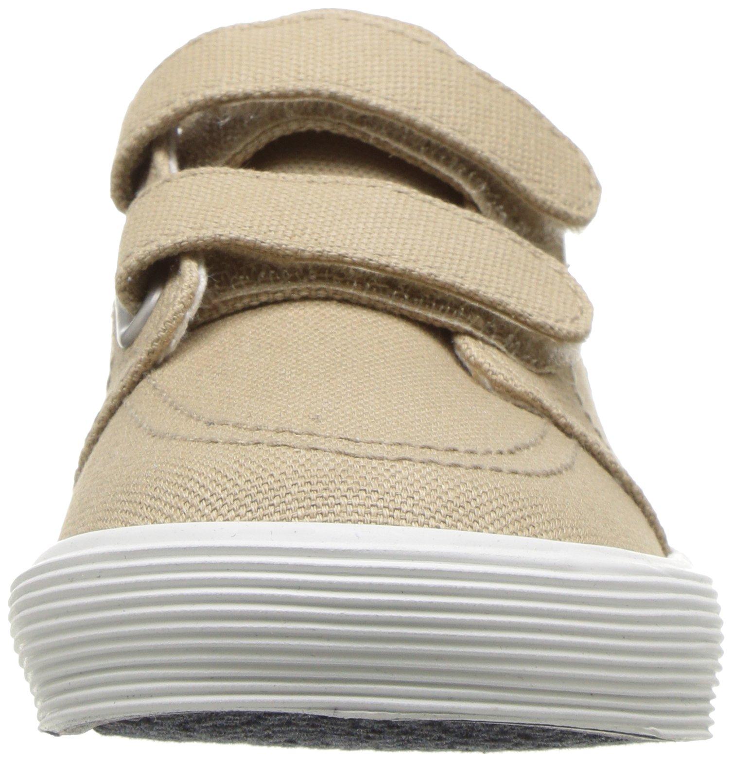 Polo Ralph Lauren Kids Boys' Faxon II Sneaker, Khaki Cotton, 10 M US Toddler by Polo Ralph Lauren (Image #4)