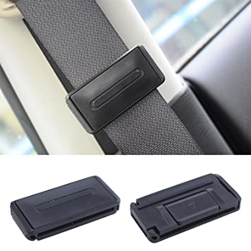 MultiWare 2 Car Seat Belt Strap Adjuster Support Clip Improves Comfort Safety Aid