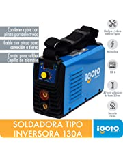 Igoto Pump MINI-130 Soldadora Inverter 130 A, 110-220V