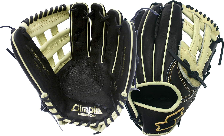 SSK 2019 Black Line 12.75 Dimple Baseball Glove S19B1275D S19B1275D