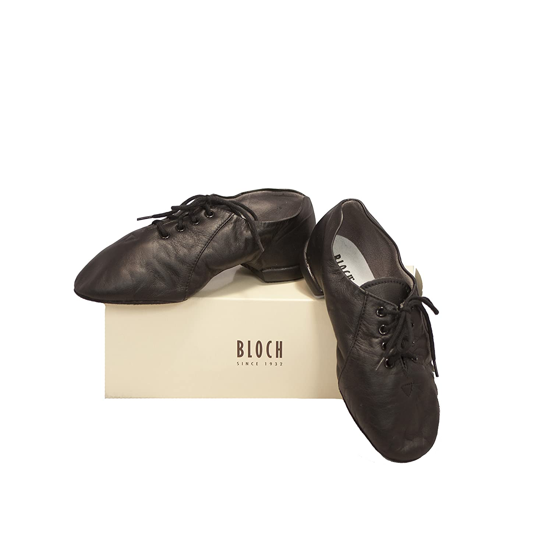 Bloch Enduro-Tech Womens Jazz Shoe Sz 4.5 S0480L Black