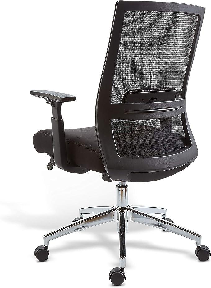 Marrett Black Mesh Chair