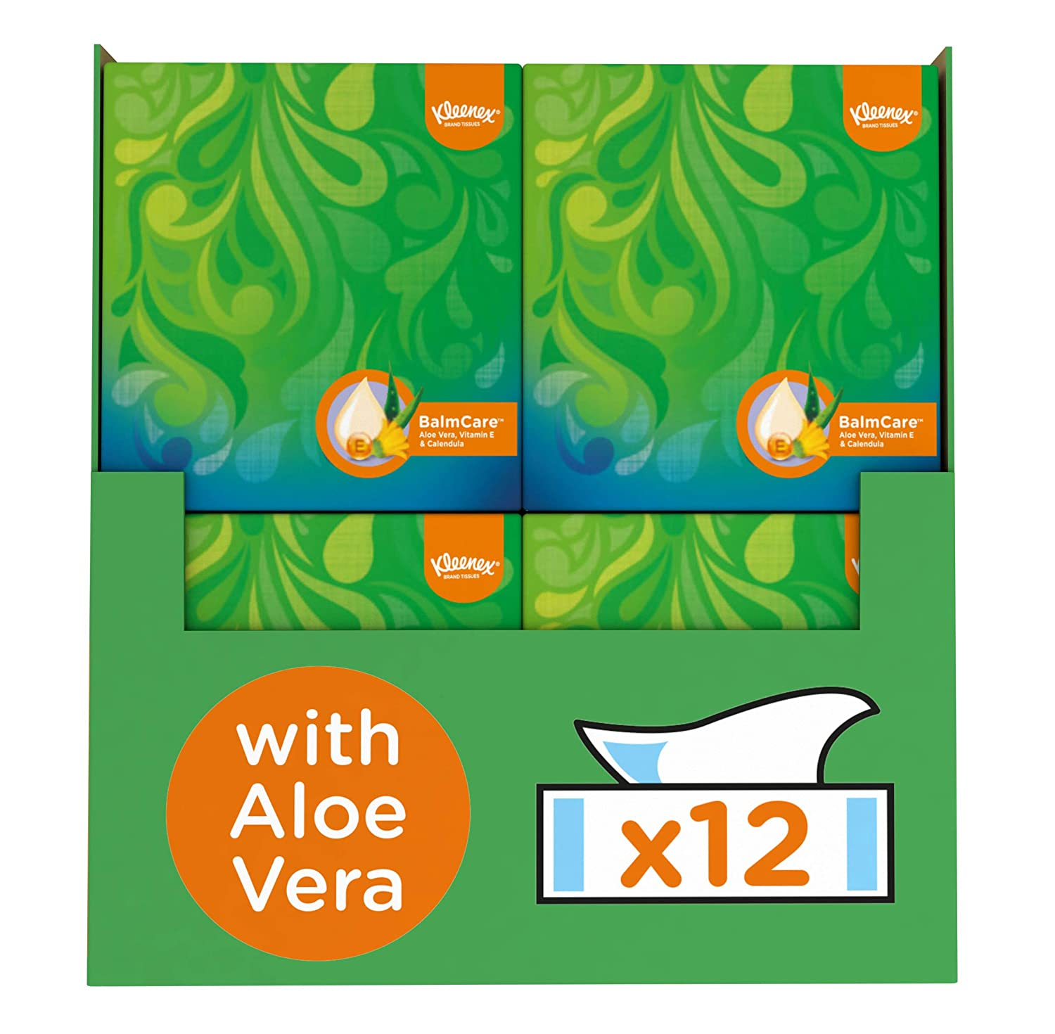 80 Pocket Packs Kleenex Balsam Pocket Packs