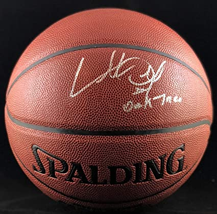 78d6264af Image Unavailable. Image not available for. Color  Charles Oakley Autographed  Signed Inscribed Basketball Nba New York Knicks Memorabilia PSA DNA