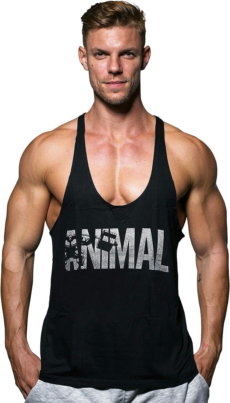 Men/'s Gym Bodybuilding Fitness Tank Tops Sleeveless Workout Vest