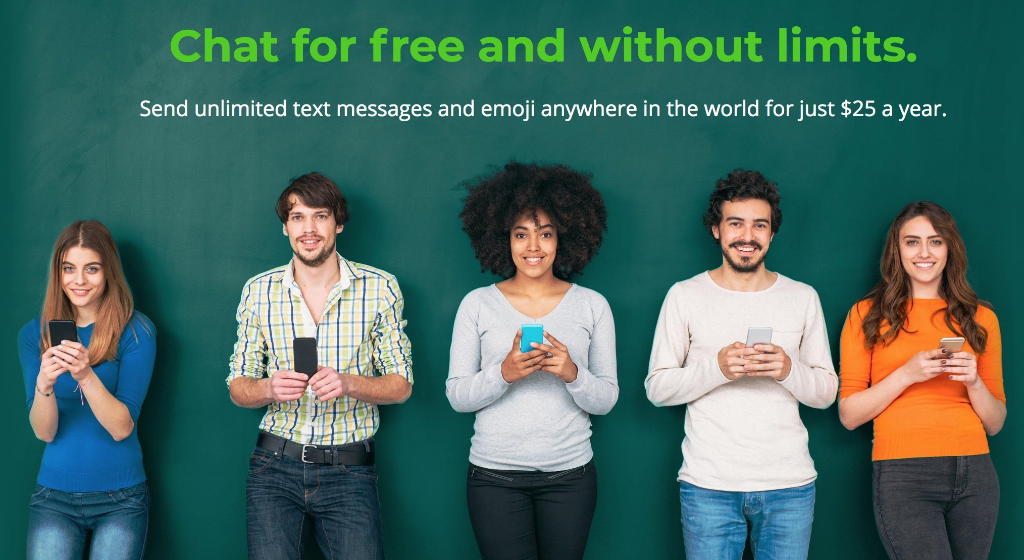 ChatSim Unlimited - Global SIM card to chat with WhatsApp, Telegram and other ChatApps in over 150 countries