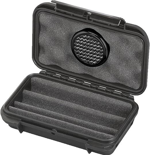 Compra MAX PRODUCTS - Humidor de viaje para puros en forma de estuche, resistente al agua y al polvo IP67, plástico, für 3 Zigarren en Amazon.es