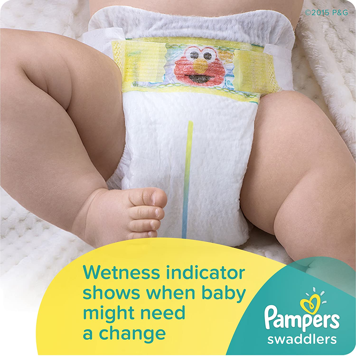 Amazon.com: Pampers Swaddlers Diapers Size 5, 124 Count: Health ...