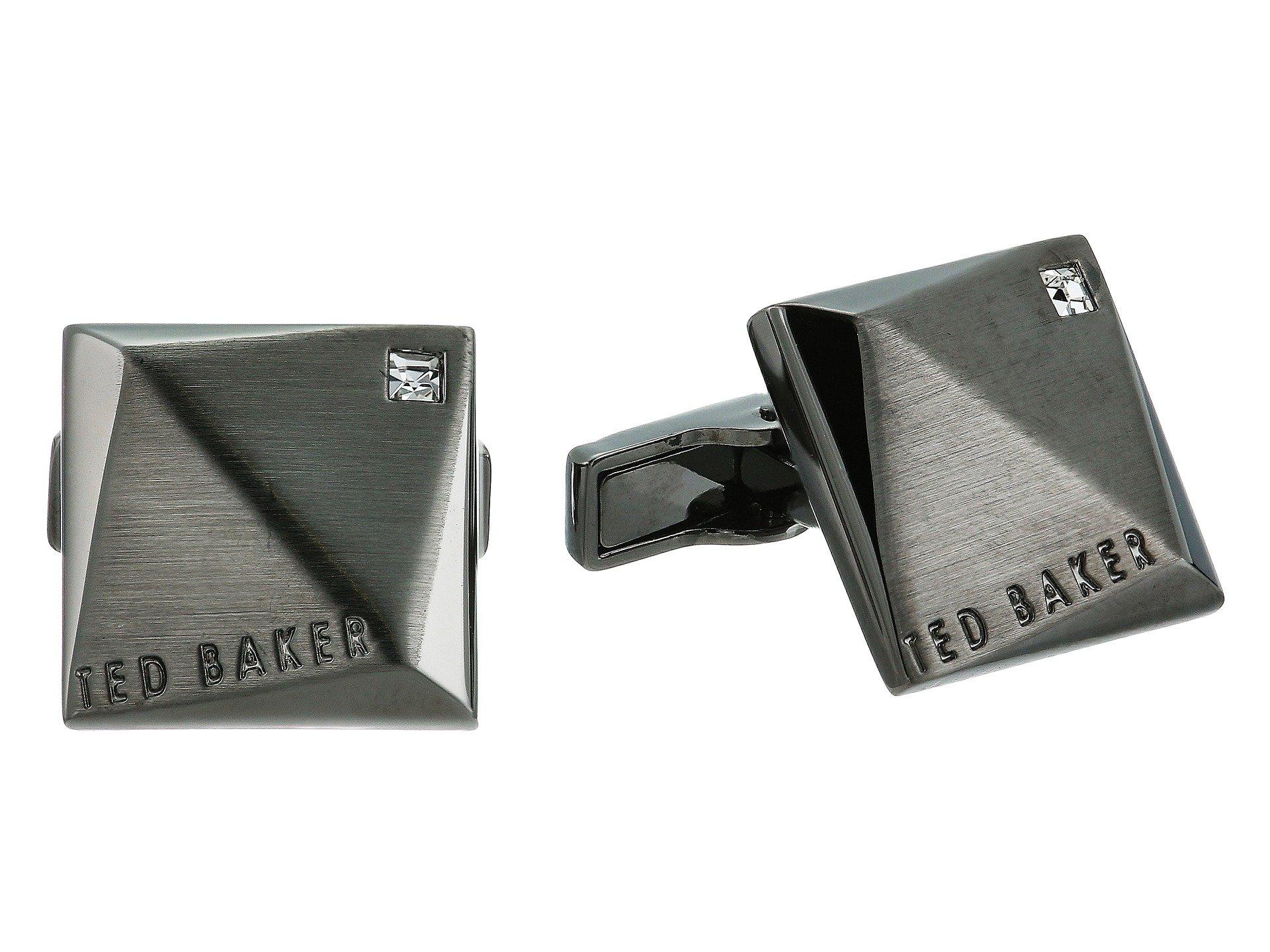 Ted Baker Men's Baile, Gunmetal, ONE SIZE