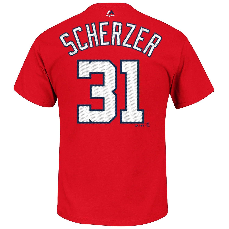 55%以上節約 Max Scherzer Name Washington Nationals # 31 B01N9Y9OVV MLB Youth ) Name & Number Tシャツ(Youth Medium 10/12 ) B01N9Y9OVV, 西区:1c211577 --- a0267596.xsph.ru