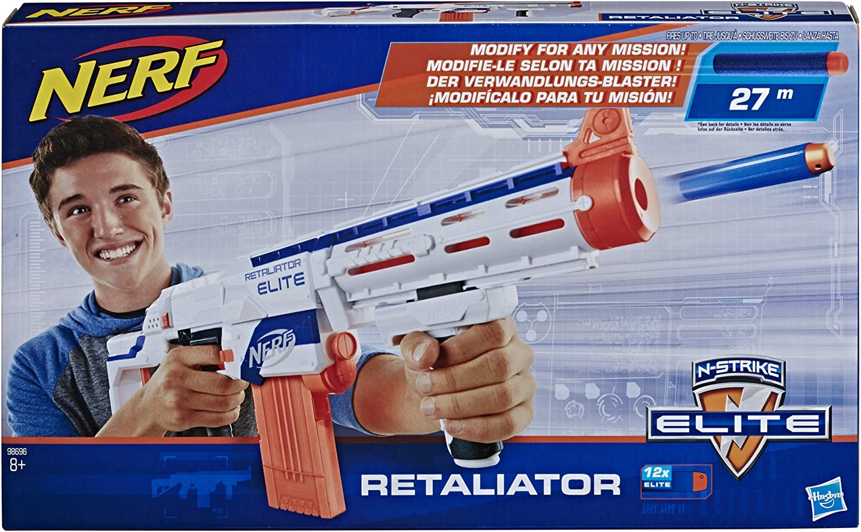 Nerf N-Strike Elite White Retaliator Main Blaster
