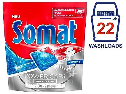 Somat Power Caps Multi de activo con filtro protector, 7 unidades) (7 x
