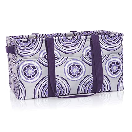 Amazoncom Thirty One Deluxe Utility Tote In Geo Pop No Monogram