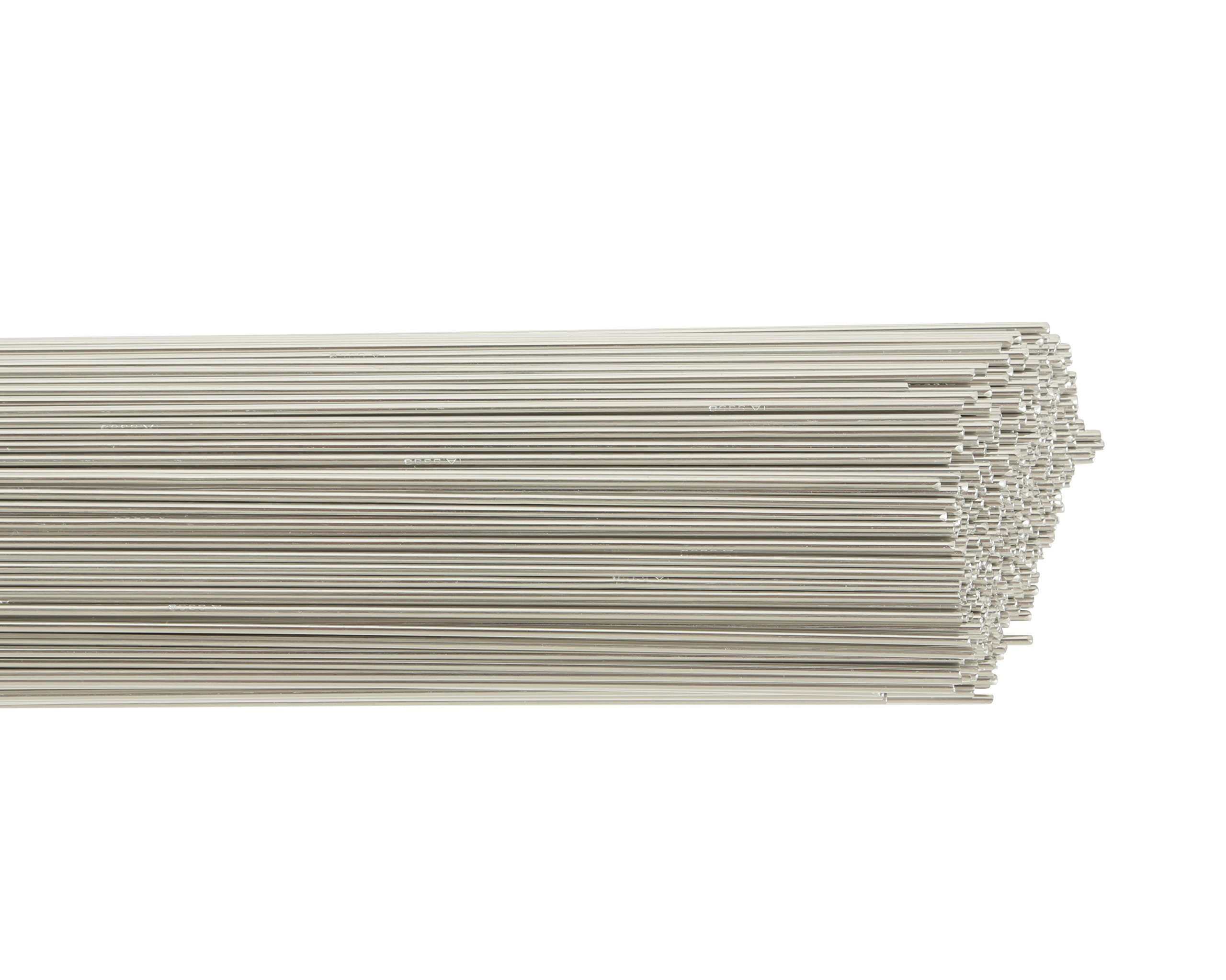 Harris 0535630 5356 Aluminum TIG Welding Rod, 1/16'' x 36'' x 10 lb. Box