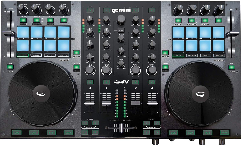 Gemini GV Virtual DJ Controller