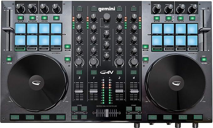 Gemini GV Series G4V Professional  DJ Controller