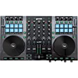 Gemini GV Series G4V Professional Audio 4-Channel MIDI Mappable Virtual DJ Controller with Touch Sensitive Jog Wheel and…