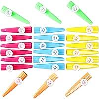 Kazoo Instrumentos musicales para niños (24 unidades)
