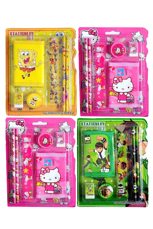 Toyshine Birthday Party Return Gifts Pack Of 24 Mix Stationery Kit Assorted