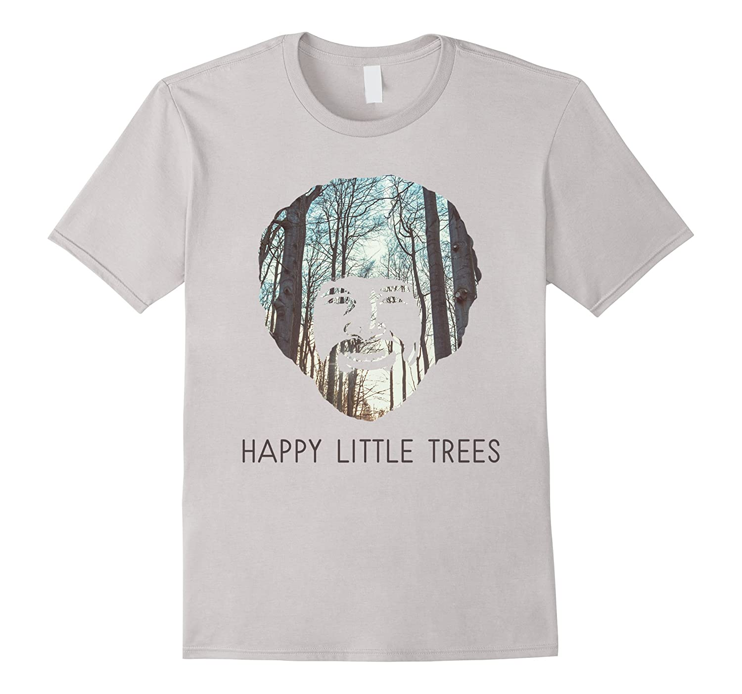 Happy Little Trees T-Shirt - Epic Painting Forest Shirt-Art