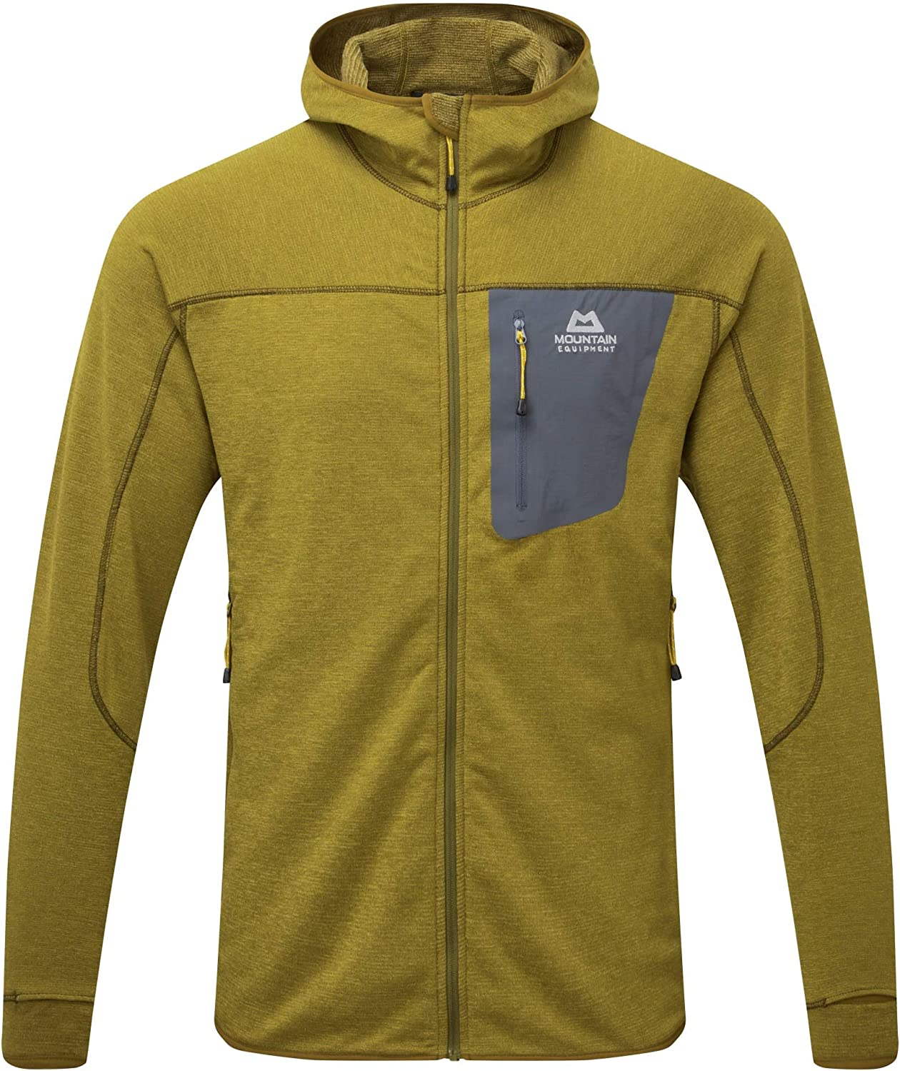 mountain equipment fleece jacke kapuze herren