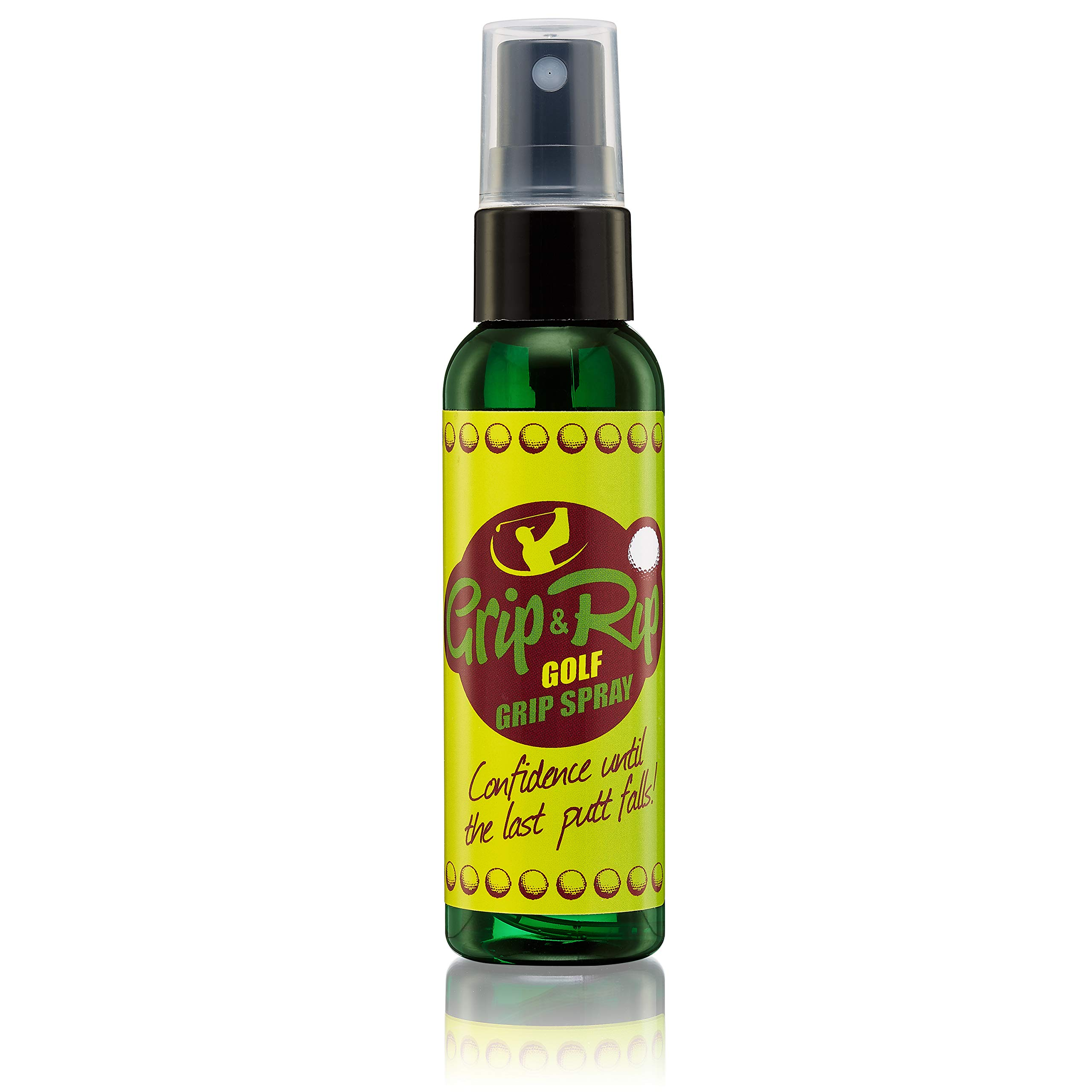 Grip & Rip Golf Club Gripping Sports Spray | Better Grip in All Weather Conditions - Sweat | All Natural Pine Rosin, Organic Aloe, Tea Tree Oil 2 oz