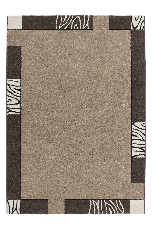 Lalee  347167463  Designer Teppich   Muster   Bordüre   Farbe   Beige   Neu   Grösse   160 x 230 cm