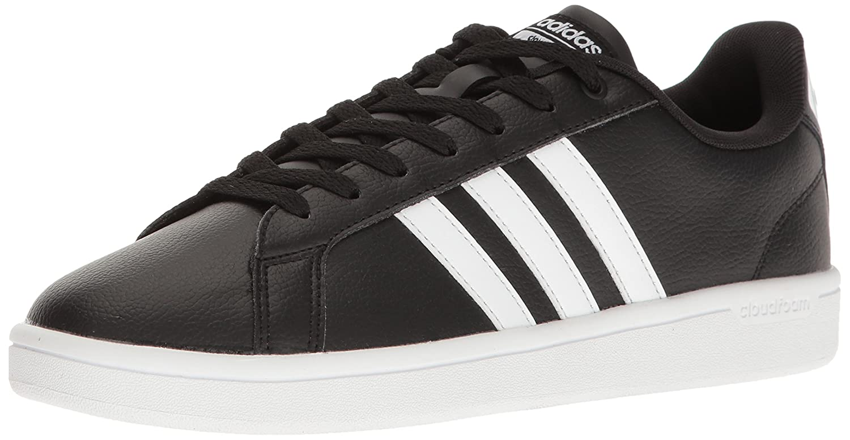 adidas Women's Cloudfoam Advantage W Fashion Sneaker B01HSIR9ZU 10 M US|Black/White/Black