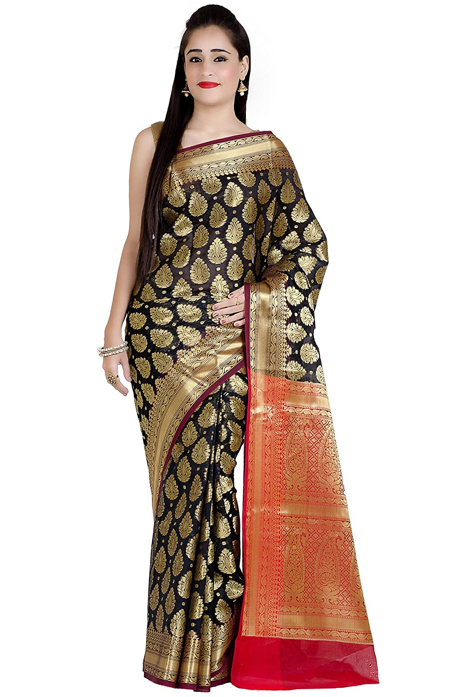 Humorous Ethnic Saree Indian Bollywood Saree Wedding Party Women Yellow Linen Sari Blouse Fine Workmanship Women's Clothing