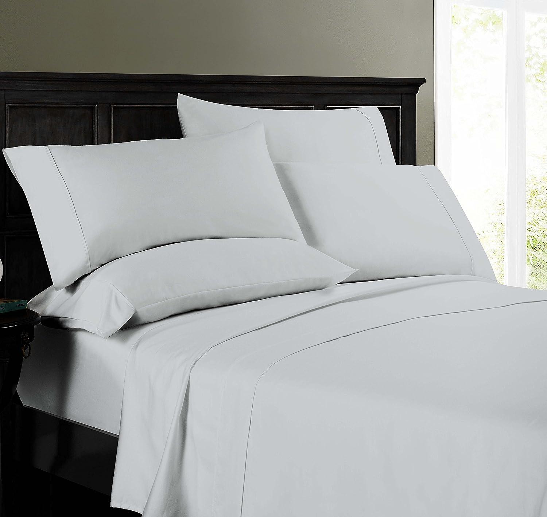 SOP-8564 Opulence 800 TC 6 Pc Full Sheet Set Gray Home Fashions S.L Inc