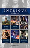 Intrigue Box Set 1-6 June 2020/Ambush before Sunrise/Isolated Threat/Midnight Abduction/Evasive Action/What She Saw/Without a Trace (Cardwell Ranch: Montana Legacy)