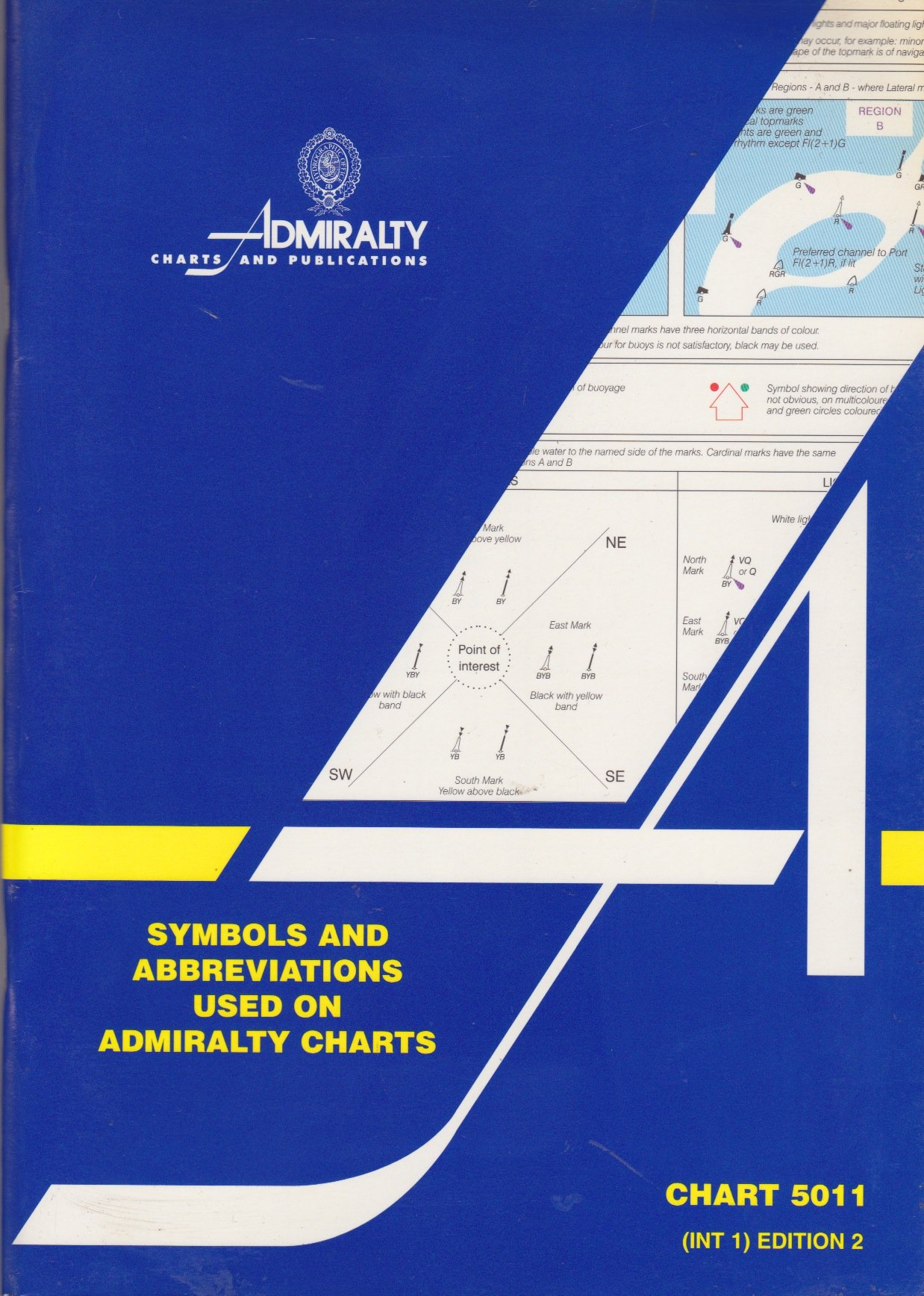 Symbols And Abbreviations Used On Admiralty Charts Amazon