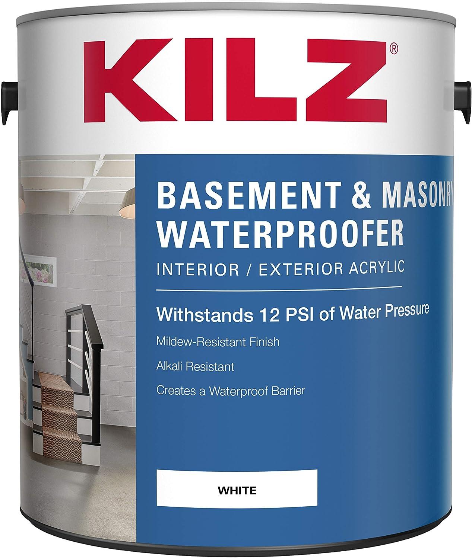 KILZ Interior/Exterior Basement and Masonry Waterproofing Paint