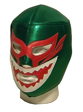 Máscara de lucha libre de luchador de adulto de tiburón