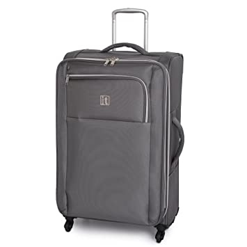 2fb906f03 Amazon.com | it luggage Megalite X-Weave 31.3 Inch Spinner, Grey, One Size  | Suitcases
