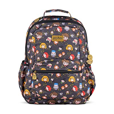 JuJuBe x Harry Potter Backpack, Be Packed | Travel-Friendly Carry On, Compact Stylish Backpack Purse, Adjustable Straps, For Kids and Adults (Cheering Charms) | Backpacks