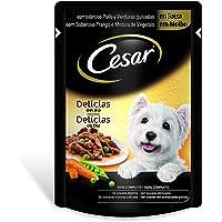 Bolsitas para perros delicias en salsa de pollo y verduras de 100g | [Pack de 24]