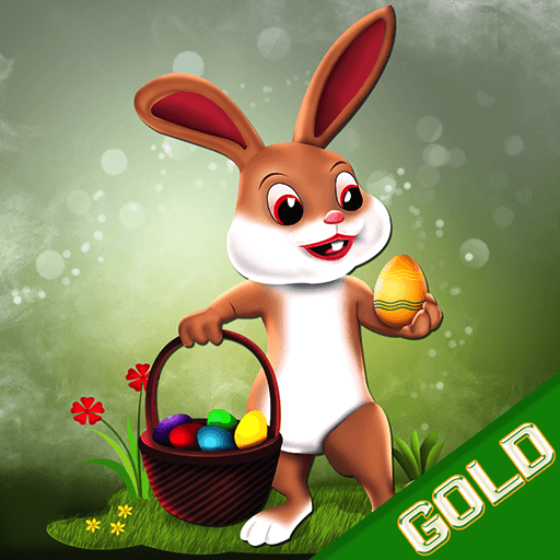 Easter Bunny Hop : The Jumping Rabbit Eggs Treasure Hunt - Gold Edition