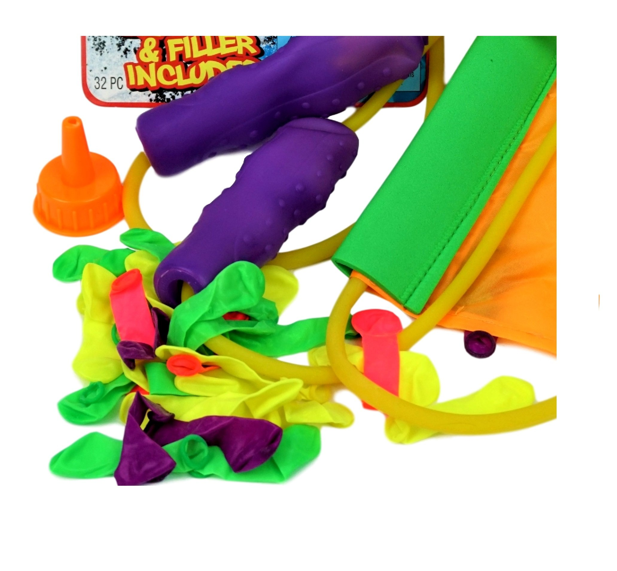 JA-RU Huge Sling Water Balloon Launcher + 30 Balloons (Pack of 6) Filler Included. Super Stretch | Item # 718-6 by JA-RU (Image #7)