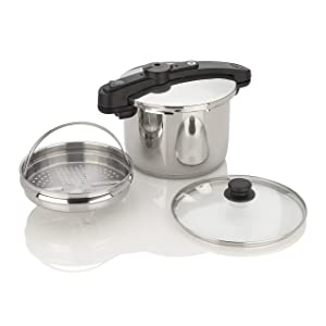 Chef Pressure Cooker Size: 8 Quart