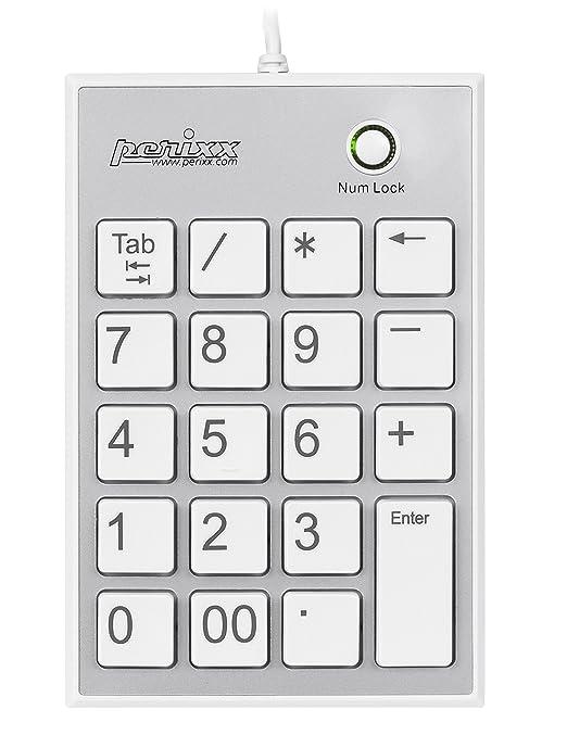 56 opinioni per Perixx PERIPAD-202 Tastierino Numerico- USB- con 2 USB Hub- con Tasto TAB-