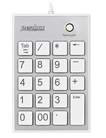 perixx peripad 202hw numeric keypad for laptop usb built in 2xusb